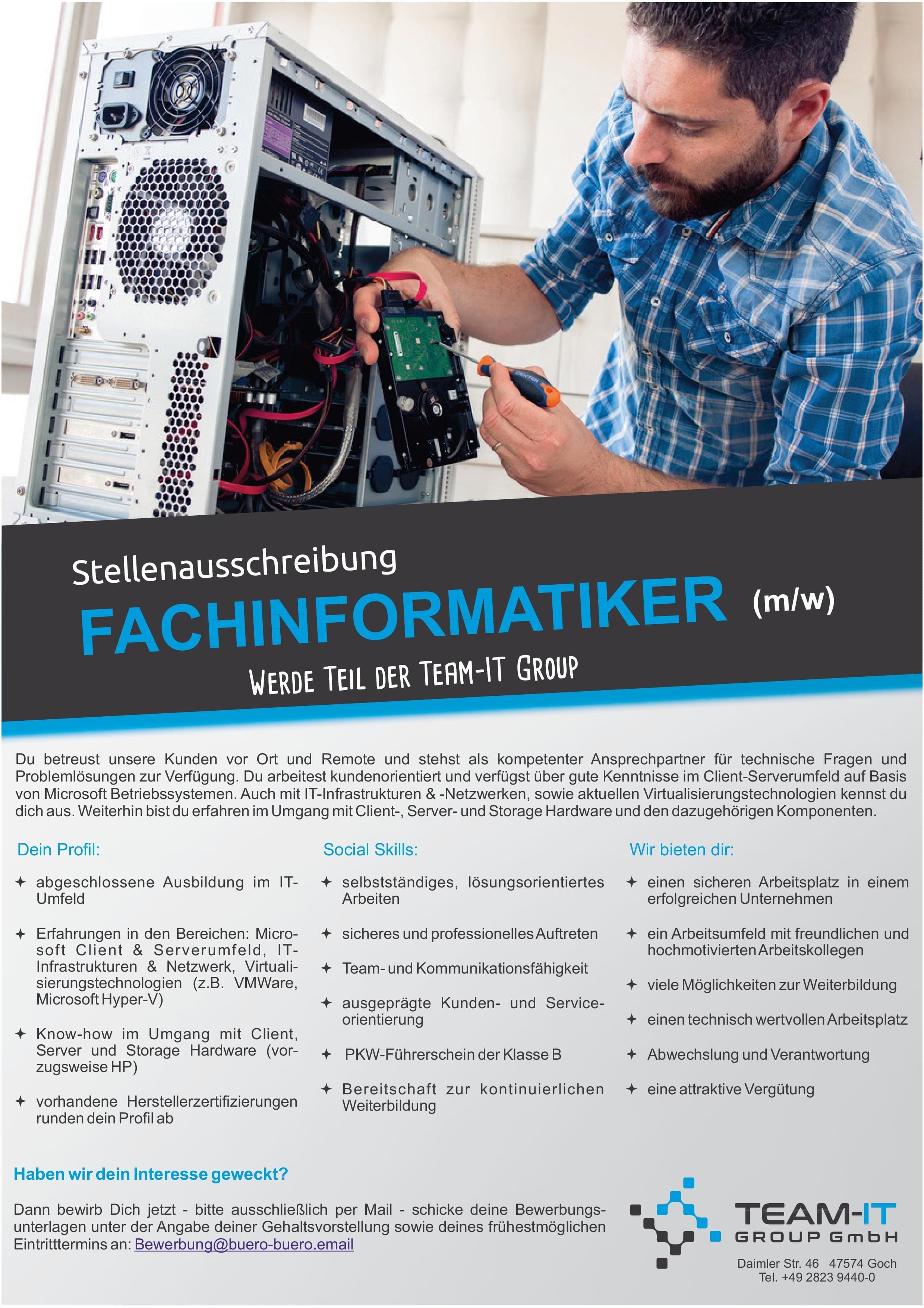 Fachinformatiker/-in